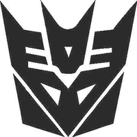 Decepticon Decal / Sticker 08