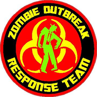' Zombie Outbreak Response Team Decal / Sticker