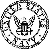 Navy Decal / Sticker