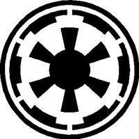 Star Wars Imperial Logo Decal / Sticker 03