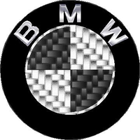 BMW Carbon Fiber Decal / Sticker 15