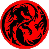 Yin Yang Dragons Decal / Sticker