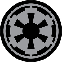Star Wars Imperial logo Decal / Sticker 04