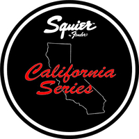 Fender Squier California Series Decal / Sticker 12