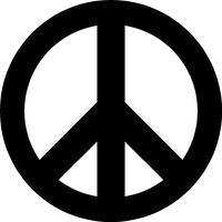 Peace Decal / Sticker 02