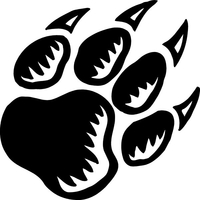 Paw Decal / Sticker 50