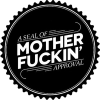 Seal of Mother Fuckin' Approval Decal / Sticker 01