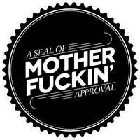 Seal of Mother Fuckin' Approval Decal / Sticker 02