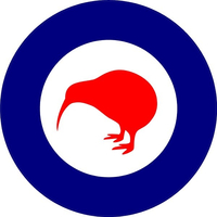 RNZA Royal New Zealand Air Force Decal / Sticker 01