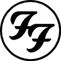 CUSTOM FOO FIGHTERS DECALS and STICKERS