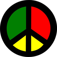 Peace Decal / Sticker 03