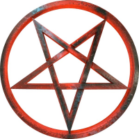 CUSTOM PENTAGRAM DECALS and PENTAGRAM STICKERS