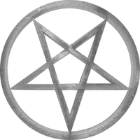 Pentagram Brand Decal / Sticker 06