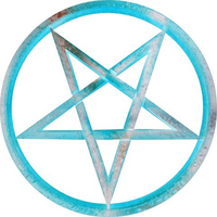 Pentagram Brand Decal / Sticker 07