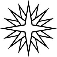 Snow Flake Decal / Sticker 02