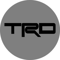 Toyota TRD Circular Decal / Sticker 12