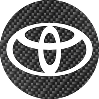 Circular Toyota Decal / Sticker 08