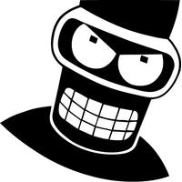 Bender Decal / Sticker 06