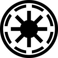 Star Wars Galactic Republic Decal / Sticker 01