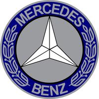 Mercedes Decal / Sticker 09