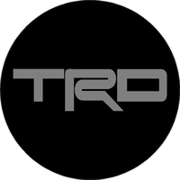 Toyota TRD Circular Decal / Sticker 14