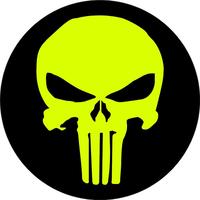 Circular Punisher Decal / Sticker 83