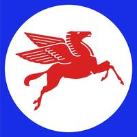 MobilGas Pegasus Decal / Sticker 08