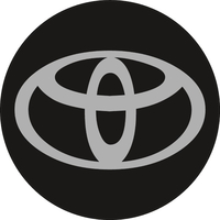 Circular Toyota Decal / Sticker