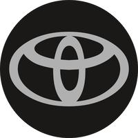Circular Toyota Decal / Sticker