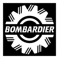 Bombardier Decal / Sticker 11