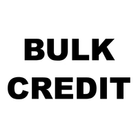 Bulk Custom Credit