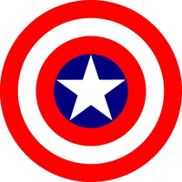 CAPTAIN AMERICA DECALS and STICKERS