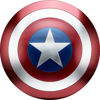 Captain America Shield Decal / Sticker 05