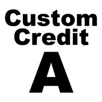 Custom Credit A