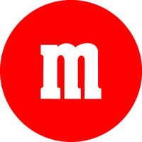 Red M&M Decal / Sticker 29