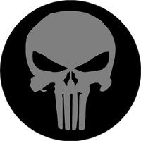 Circular Punisher Decal / Sticker 93