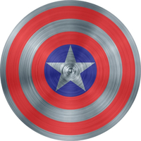 Captain America Shield Decal / Sticker 09