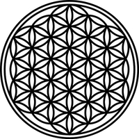 FLOWER OF LIFE DECALS and STICKERS