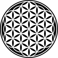 Flower of Life Decal / Sticker 02
