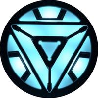 Iron Man Arc Reactor Decal / Sticker 01