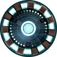 Iron Man Arc Reactor Decal / Sticker 02