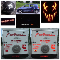 Custom Die-Cut Reflective Decal / Sticker Quote (High Volume)