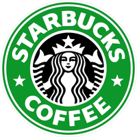 Starbucks Coffee Decal / Sticker 01