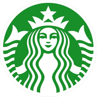 Starbucks Coffee Decal / Sticker 07