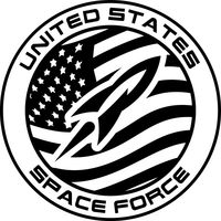 U.S. SPACE FORCE DECALS and STICKERS