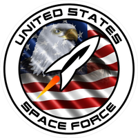 United States Space Force Decal / Sticker 03