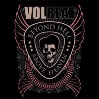 VOLBEAT Decal / Sticker 10