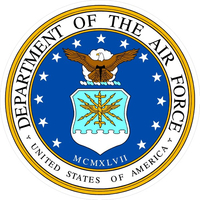 Department of the Air Force Decal / Sticker 16