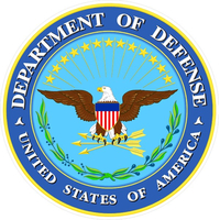 Department of Defense Decal / Sticker 01