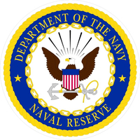 Department of the Navy Naval Reserves Decal / Sticker 08